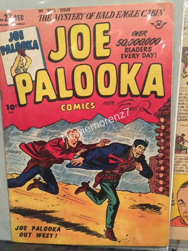 1945 Joe Palooka Comic Book with Howie Morenz #27-3-imp
