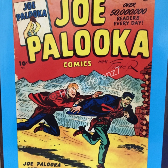 2016 Feb 5 Joe Palooka 1945 #27 Paperback version