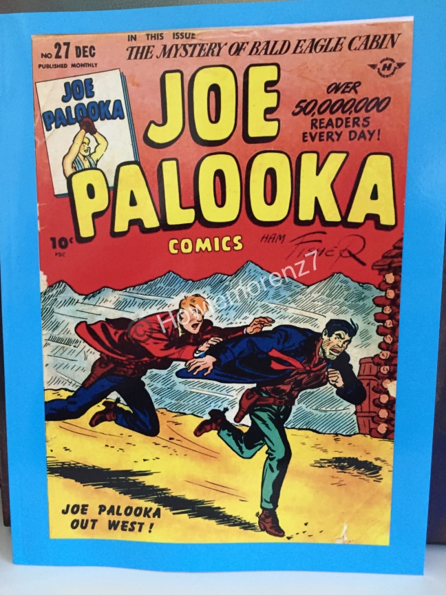 2016 Feb 5 Joe Palooka 1945 #27 Paperbak version