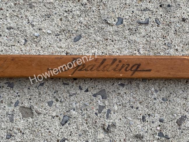 1930's Morenz endorsed Spalding stick #2
